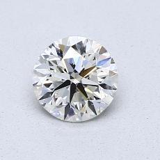0,70-Carat Round Diamond Very Good I SI2