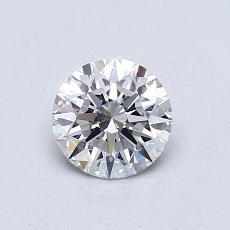 0,71-Carat Round Diamond Ideal D VS1