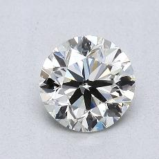 Recommended Stone #3: 0,91-Carat Round Cut Diamond