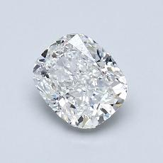 1.00-Carat Cushion Diamond Very Good F VS1