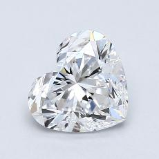 Recommended Stone #4: 1.08-Carat Heart Cut Diamond