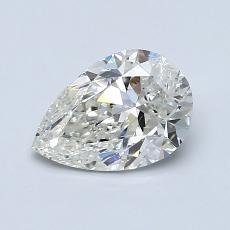 1.00 Carat 梨形 Diamond 非常好 J SI2