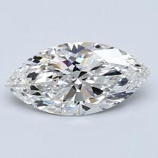 1.00-Carat Marquise Diamond Very Good G VS1