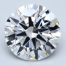 Recommended Stone #3: 3.02-Carat Round Cut Diamond