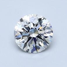 1.03 Carat 圆形 Diamond 理想 E VVS2