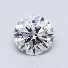 1.01 Carat 圆形 Diamond 理想 E SI1