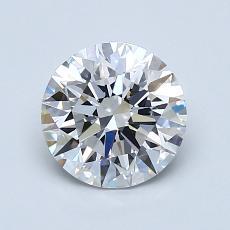 1.20-Carat Round Diamond Ideal D IF
