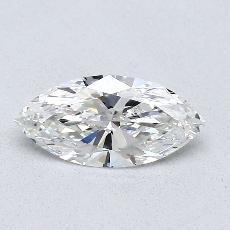 推薦鑽石 #3: 0.74 Carat Marquise Cut