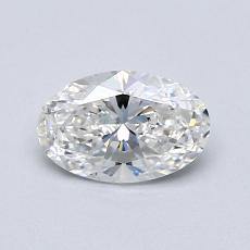 0.70-Carat Oval Diamond Very Good F SI2