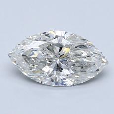 1.00-Carat Marquise Diamond Very Good G SI2