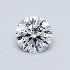 0,70 Carat Rond Diamond Idéale D SI1