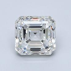 1.50 Carat 上丁方形 Diamond 非常好 I VVS1