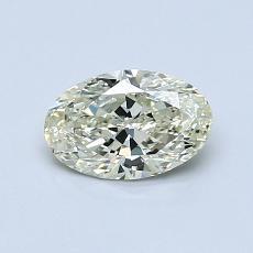 推薦鑽石 #2: 0.65 克拉橢圓形切割鑽石