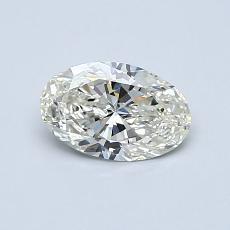 推薦鑽石 #4: 0.58 克拉橢圓形切割鑽石