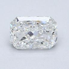 1,02-Carat Radiant Diamond Very Good G SI1