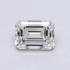 Recommended Stone #1: 0,91-Carat Emerald Cut Diamond