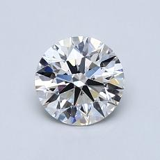 Recommended Stone #3: 0,81-Carat Round Cut