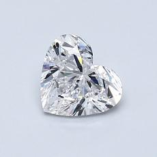 Recommended Stone #4: 0.70-Carat Heart Cut Diamond