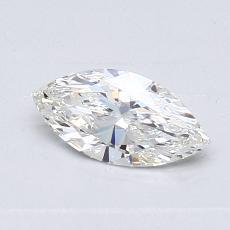 推薦鑽石 #1: 0.50 克拉欖尖形切割