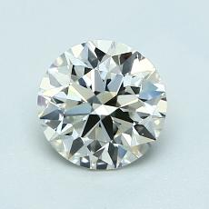 1,00-Carat Round Diamond Ideal K VS1