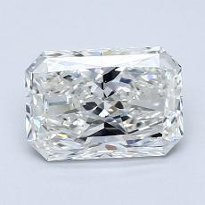 Recommended Stone #1: 1.25-Carat Radiant Cut Diamond