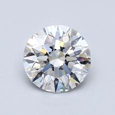 1,01 Carat Rond Diamond Idéale D VVS1