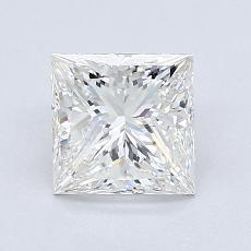 1.20-Carat Princess Diamond Very Good H VVS2