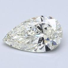 Recommended Stone #1: 1.70-Carat Pear Cut Diamond