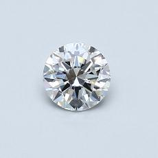0.40-Carat Round Diamond Very Good E SI1