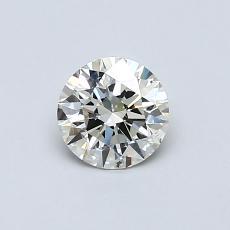 0.54 Carat 圓形 Diamond 理想 K SI2