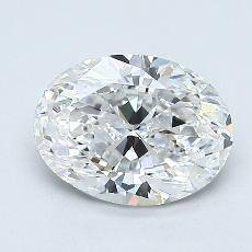 Recommended Stone #1: 1.20-Carat Oval Cut