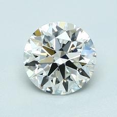 1.07 Carat 圓形 Diamond 理想 I VVS2