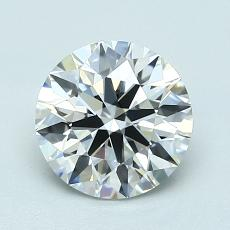 1.40-Carat Round Diamond Ideal F VVS1