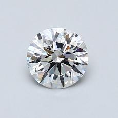 Pierre recommandée n°1: Diamant taille ronde 0,70 carat
