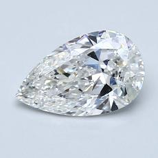 1.01 Carat Pera Diamond Muy buena F SI1