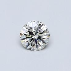 推薦鑽石 #2: 0.33 克拉圓形切割鑽石