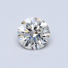 Recommended Stone #1: 0,55-Carat Round Cut