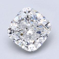 Pierre recommandée n°4: Diamant taille coussin 2,10 carats