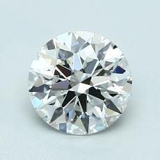 1.20-Carat Round Diamond Ideal H VS1