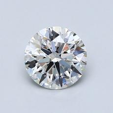 0,80 Carat Rond Diamond Idéale G VS1