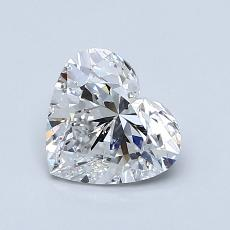 Recommended Stone #3: 1.02-Carat Heart Shaped