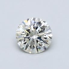 推薦鑽石 #3: 0.70 克拉圓形切割鑽石