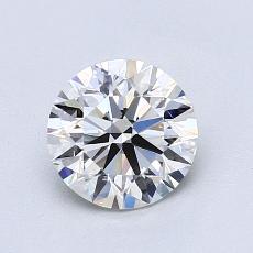当前宝石:1.04 克拉圆形切割