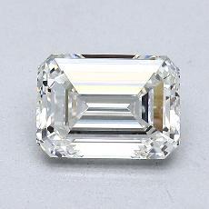 1.09-Carat Emerald Diamond Very Good H VVS2