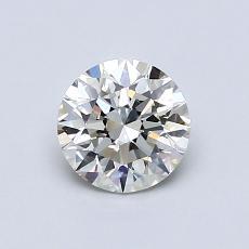 0.71-Carat Round Diamond Ideal K VS1