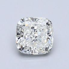 1.05-Carat Cushion Diamond Very Good H VS1