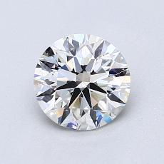 1.03 Carat 圆形 Diamond 理想 G VVS1