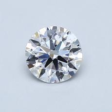 推荐宝石 1:0.63 克拉圆形切割