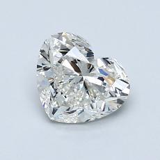 1.00-Carat Heart Diamond Very Good I VS2
