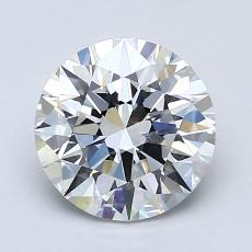 Recommended Stone #3: 1.61-Carat Round Cut